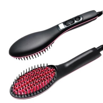 Hair Straightener Brush Comb