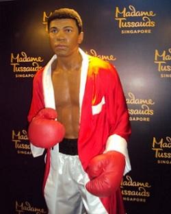 Muhammad Ali madame tussauds singapore