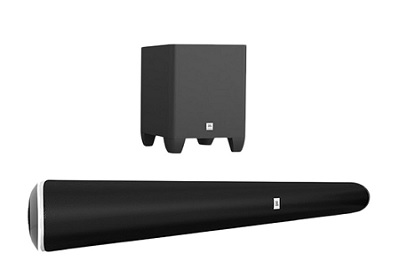 JBL Soundbar and Subwoofer