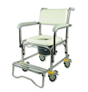 Bion Commode Wheelchair