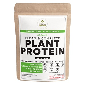 Nature's Superfoods Organic Plant Protein Powder