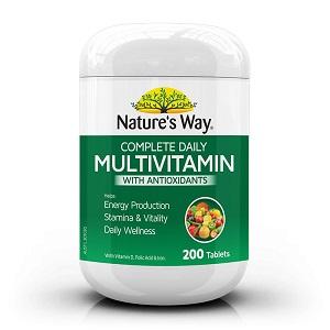 Nature's Way Multivitamin with Antioxidants