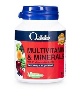 Ocean Health Multivitamins & Minerals