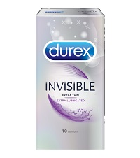 Durex Invisible Extra Lubricated Condom