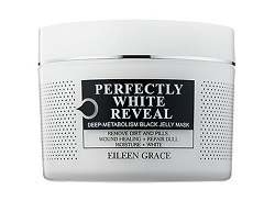 Eileen Grace Perfectly White Reveal Black Jelly Mask