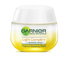 Garnier Light Complete Yogurt Sleeping Mask