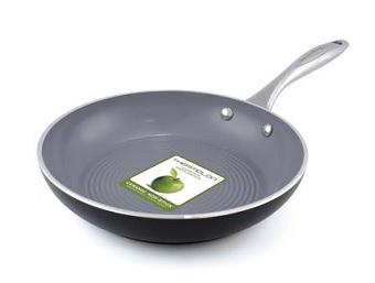 GreenPan Siena 3D Black Aluminium Skillet Pan