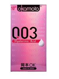 Bao cao su Okamoto 003 Hyaluronic