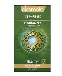 Okamoto Harmony Vibra Ribbed Condom