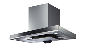 Fujioh FJS-900R Stainless Steel Chimney Hood