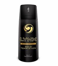 LYNX Gold Temptation Deodorant Body Spray
