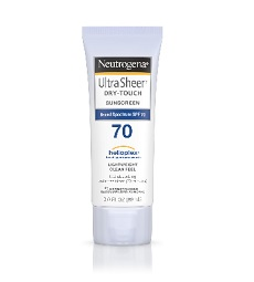 Neutrogena Ultra Sheer Dry-Touch Sunblock SPF70