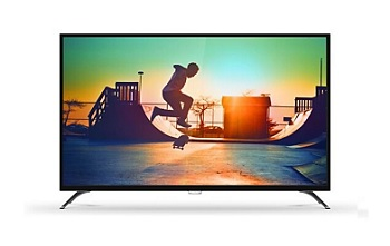 Philips 55 4K Ultra Slim Smart LED TV 55PUT6002