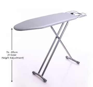 SOL HOME Premium Standing Ironing Board