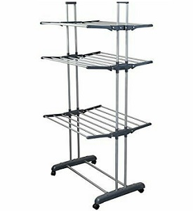 3 Tier Wing Type Clothing Drying Rack