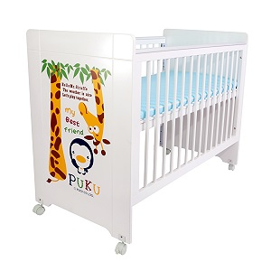 Puku 5 in 1 Baby Cot