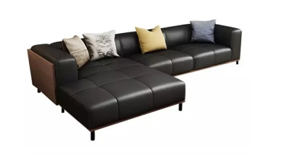 UMD Genuine Leather Sofa