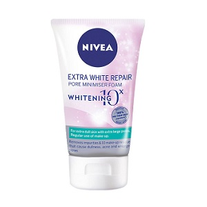 Nivea Extra White Repair Pore Minimiser Foam