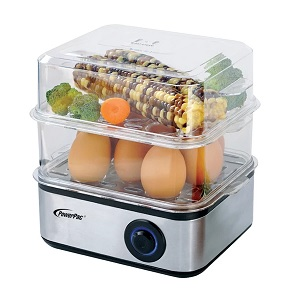 PowerPac Multi-Functional 2-Tier Steamer