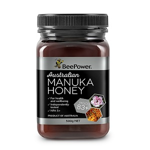 BeePower Australia Organic Manuka Honey MGO 83+