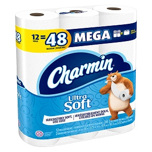 Charmin Ultra Soft 2-Ply Toilet Roll
