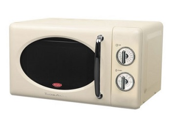 EuropAce Retro Microwave Oven