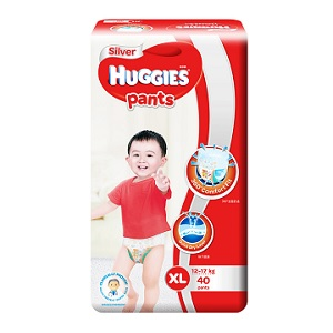 Huggies Silver Pants