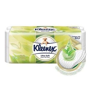 Kleenex Ultra Soft Green Tea Clean Toilet Tissue
