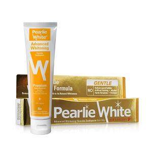 Pearlie White Advanced Whitening Fluoride Toothpaste