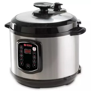 Sona SPC2501 Digital Pressure Cooker
