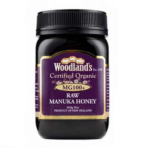 Woodlands Organic Manuka Honey MG100+