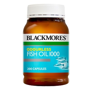 Blackmores Odourless Fish Oil