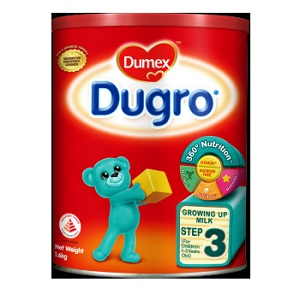 Dumex Dugro Stage 3 Growing Up Baby Milk Formula