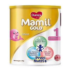 Dumex Mamil Gold Stage 1 Newborn Milk Formula