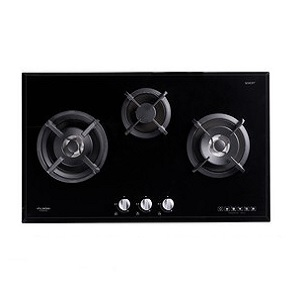 Fujioh FH-GS6030 3-Burner Glass Hob