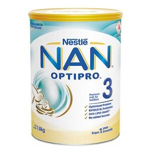 Nestlé NAN OPTIPRO 3 Growing Up Milk