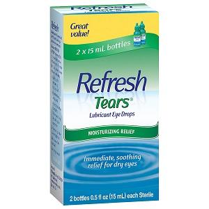 Refresh Lubricating Eye Drops