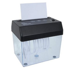 USB Paper Shredder