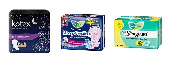 Best Sanitary Pad Singapore