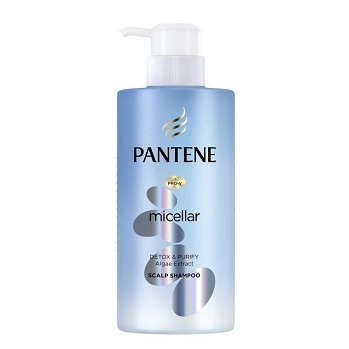 Pantene Micellar Series Pure and Cleanse Shampoo