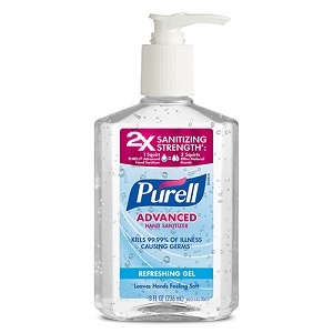 Purell Hand Sanitizer Gel
