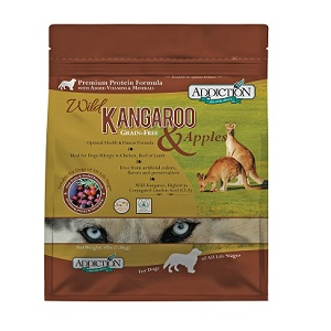 Addiction Wild Kangaroo & Apples Dog Food