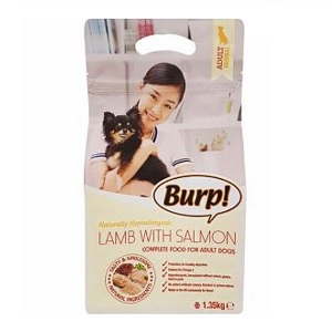 Burp Dog Food Lamb & Salmon