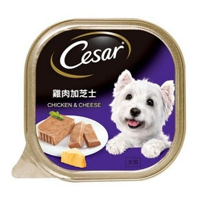 Cesar Wet Dog Food Chicken & Cheese