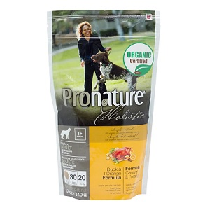Pronature Duck & Orange Dog Food