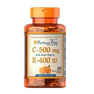 Puritan's Pride Vitamin C & E
