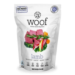 Woof Raw Lamb Dog Food